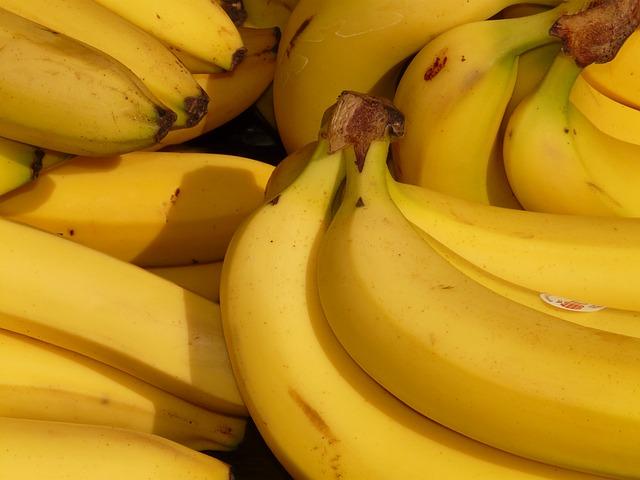 The health benefits of bananas and heart palpitations