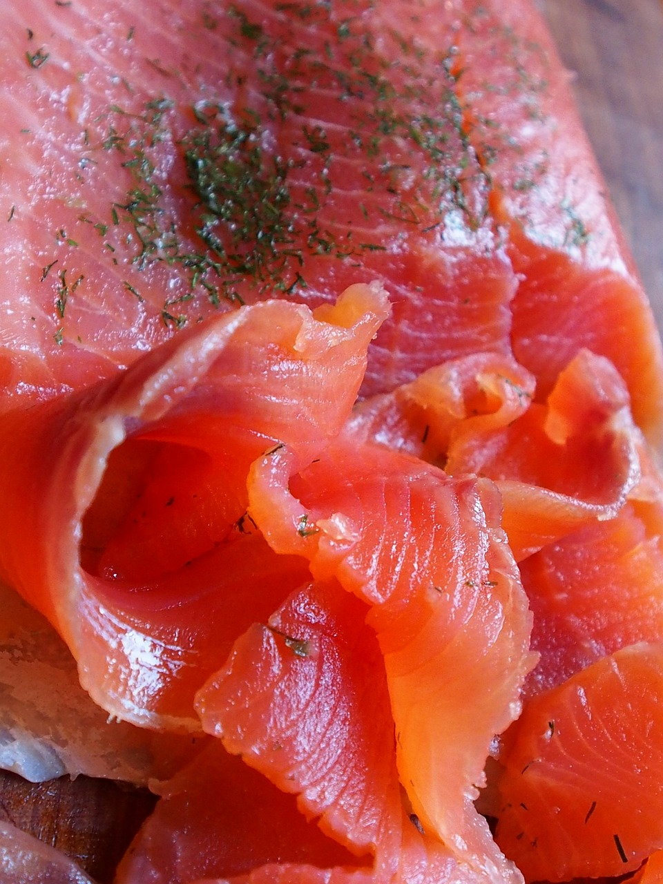 Salmon is a heart healthy food