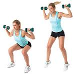 Fat busting exercise routine: Move 1